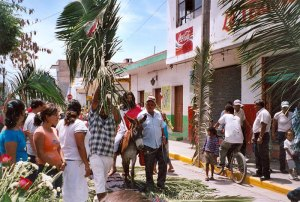Palm Sunday in San Blas