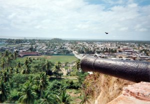 The town of San Blas as seen from the old fort
