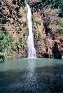 Waterfall near San Blas
