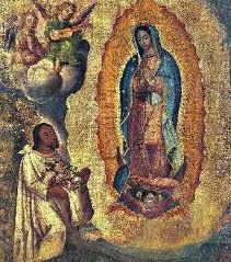 Virgin of Guadalupe rustic